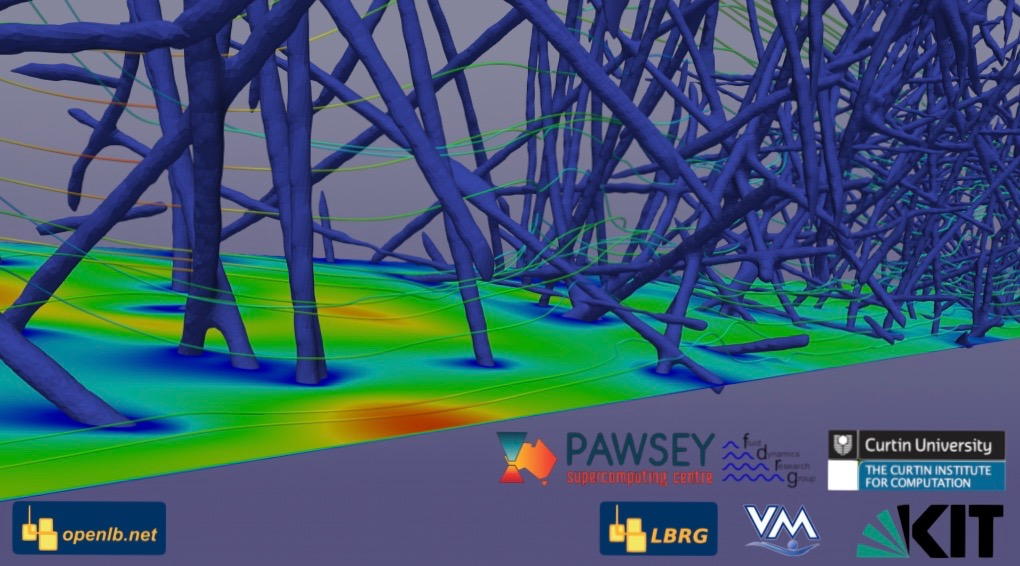 Huge CFD simulation