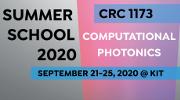 CRC summer school 2020