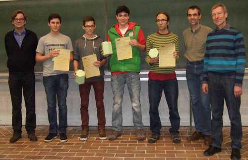 Siegerteam des Grupenwettbewerbs