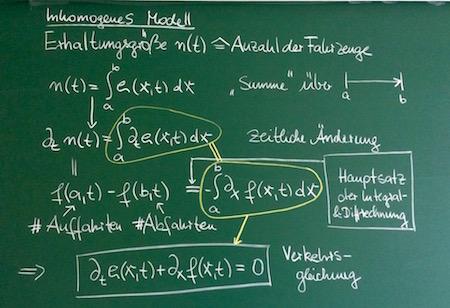 Einfachstes Modell (homogen, linear)