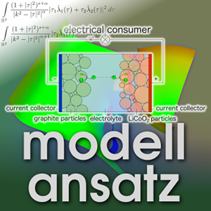 Der Modellansatz: Akkumulatoren. Simulation und Grafik: Markus Maier, Komposition: Sebastian Ritterbusch