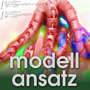 Der Modellansatz: Algorithmisches Differenzieren, Foto: G. Thäter , Komposition: S. Ritterbusch