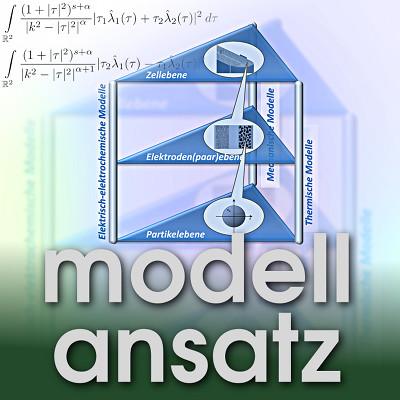 Der Modellansatz: Batteries. Graphics: S. Carelli, Komposition: S. Ritterbusch
