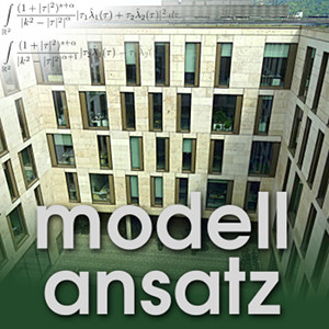 Der Modellansatz: Computergrafik. Foto: G. Thäter, Komposition: S. Ritterbusch