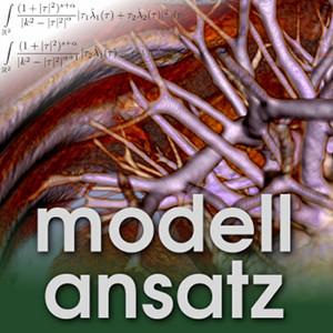 Der Modellansatz: Bewegte Computertomographie. Visualisierung: Sebastian Ritterbusch