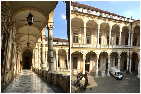 Mathematical Department, University of Turin, Photo: G.Thäter