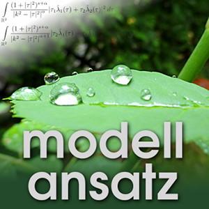 Der Modellansatz: Dynamische Benetzung, Bild: G. Thäter, Komposition: S. Ritterbusch