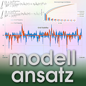 Der Modellansatz: Electric Vehicles on the Grid. Simulation and Visualization: Zaheer Ahamed, Composition: S. Ritterbusch