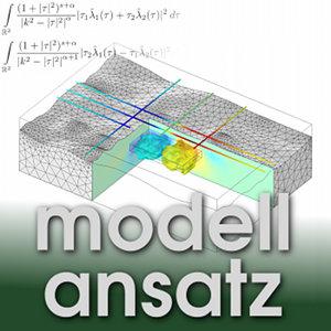 Der Modellansatz: Erdölsuche. Simulation: Jörg Bäuerle und Andreas Helfrich-Schkarbanenko. Visualisierung: Andreas Helfrich-Schkarbanenko.