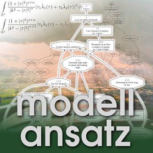 Der Modellansatz: Flugunfälle. Foto & Visualisierung: B. Sieker, Komposition: S. Ritterbusch
