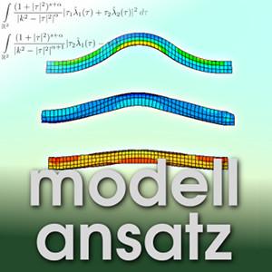 Der Modellansatz: Elastoplastizität, Visualisierung: H. Benner, Komposition: S. Ritterbusch