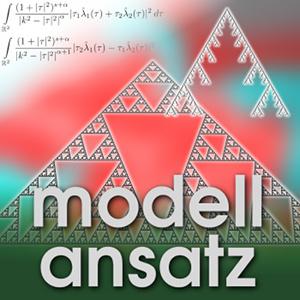 Der Modellansatz: Fraktale Geometrie. Fraktale: Steffen Winter, Komposition: Sebastian Ritterbusch