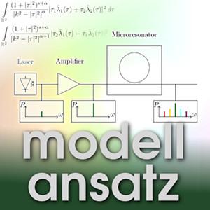 Der Modellansatz: Frequenzkämme, Visualisierung: J. Gärtner, Komposition: S. Ritterbusch