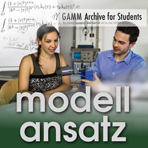 Der Modellansatz: GAMM Juniors, Bild: GAMMAS, CC BY 4.0 GAMM Juniors, Komposition: S. Ritterbusch