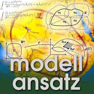 Der Modellansatz: Geometrische Analysis, Visualisierung: Tobias Lamm, Foto und Komposition: Sebastian Ritterbusch