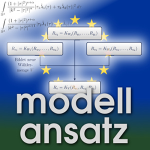 Der Modellansatz: Gruppenentscheidungen, Diagramm: S.Gassama, L.Harms, D.Schneiderhan , Komposition: S. Ritterbusch