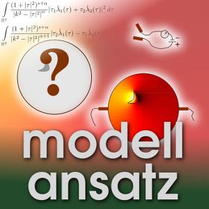Der Modellansatz: Impedanztomographie. Illustration und Simulation: Stefanie Hollborn. Komposition: Sebastian Ritterbusch