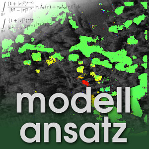 Der Modellansatz: InSAR. Visualisierung: M. Even. Komposition: Sebastian Ritterbusch