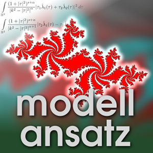 Der Modellansatz: Julia Sets. Visualization: P.Kraft, Composition: S.Ritterbusch