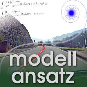 Der Modellansatz: Klothoiden, Foto, Visualisierung und Komposition: Sebastian Ritterbusch