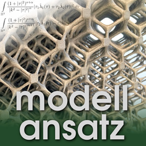Der Modellansatz: Kristallgittermodelle, Foto: G. Thäter , Komposition: S. Ritterbusch