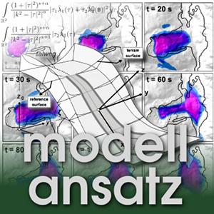 Der Modellansatz: Lawinen. Simulation und Visualisierung: Mergili, Schratz, Ostermann, Fellin