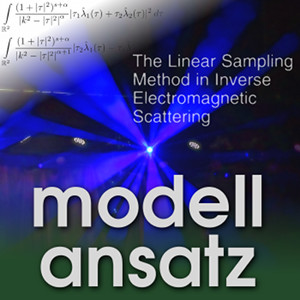 Der Modellansatz: Linear Sampling. Photo: G. Thäter, Komposition: S. Ritterbusch