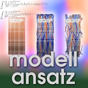 Der Modellansatz: Kinetische Theorie. Simulation und Visualisierung: T. Hoffmann, Komposition: S. Ritterbusch