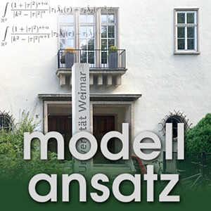 Der Modellansatz: Mensch-Maschine Interaktion. Foto: G. Thäter, Komposition: S. Ritterbusch