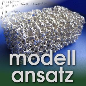 Der Modellansatz: Metallschaum, Foto: A.August