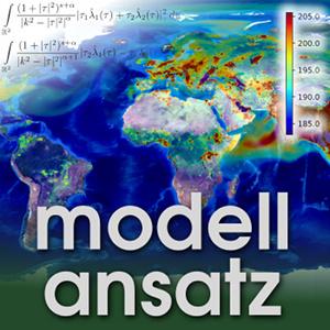 Der Modellansatz: Methan. Simulation, Visualisierung: C. Scharun, Komposition: S. Ritterbusch