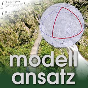 Der Modellansatz: Metrische Geometrie. Foto: G.Thäter, Grafik: P.Schwer, Komposition: S.Ritterbusch