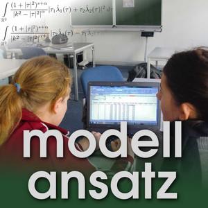 Der Modellansatz: Mathematische Modellbildung. Foto: Gudrun Thaeter.