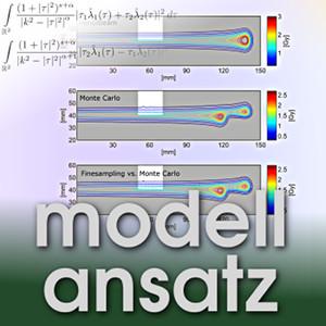 Der Modellansatz: Monte-Carlo Simulationen, Simulation, Visualisierung: A. Sage, Komposition: S. Ritterbusch