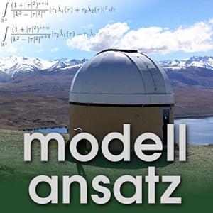 Der Modellansatz: Noether-Theorem. Foto: G. Thäter, Komposition: S. Ritterbusch