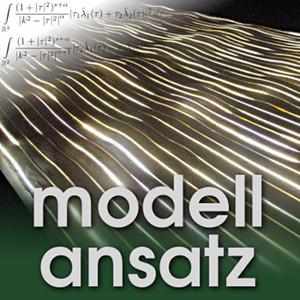 Der Modellansatz: Nonhomogenous Fluids. Photo: G. Thäter, Composition: S. Ritterbusch