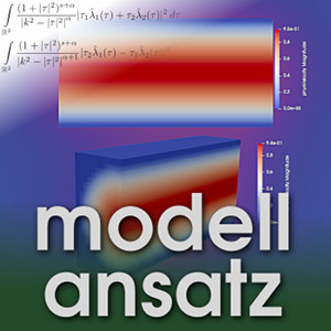 Der Modellansatz: Poiseuillestrom, Simulationen: A.Akboyraz und A.Castillo, Komposition: S. Ritterbusch