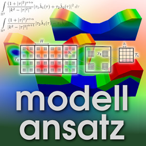 Der Modellansatz: Poroelastische Medien. Simulation und Visualisierung: J. Fröhlich, Komposition: S. Ritterbusch