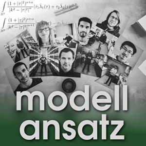 Der Modellansatz: Portrait of Science. Foto: M. Gonciarz, Komposition: S. Ritterbusch