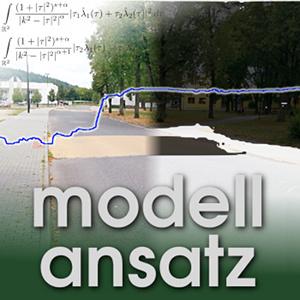 Der Modellansatz: Verkehrsmodellierung, Bild und Analyse: Michael Fürst, Komposition: Sebastian Ritterbusch