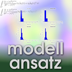 Der Modellansatz: Propensity Score Matching, Grafik: P. Packmohr, Komposition: S. Ritterbusch