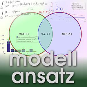 Der Modellansatz: Shannon Information. Visualisierung: Paul Darscheid, Komposition: Sebastian Ritterbusch