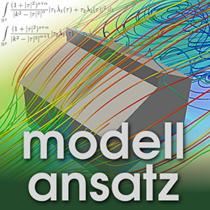 Der Modellansatz: Simcale. Simulation and Visualization: SimScale, Composition: S. Ritterbusch