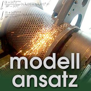 Der Modellansatz: Simulierte Welten. Foto: G. Thäter, Komposition: S. Ritterbusch