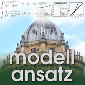 Der Modellansatz: Singular Pertubation. Visualization: R. Hill, Photo: G. Thäter, Composition: S. Ritterbusch