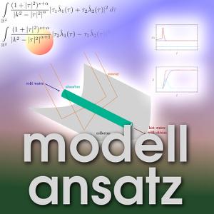 Der Modellansatz: Sonnenkollektoren. Grafik und Simulation: Edwin Hernandez, Komposition: S.Ritterbusch