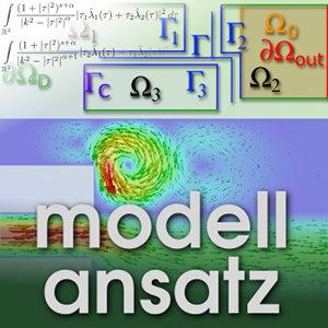 Der Modellansatz: Strömungssteuerung und Gebietszerlegung. Simulation und Visualisierung: Eva Ketelaer