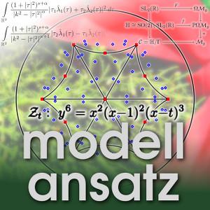 Der Modellansatz: Teichmüllerkurven, Visualisierung: Jonathan Zachhuber, Foto und Komposition: Sebastian Ritterbusch