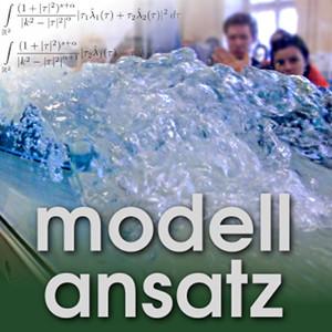 Der Modellansatz: Turbulence. Foto: G. Thäter, Composition: S. Ritterbusch