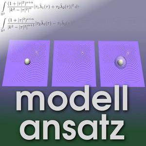 Der Modellansatz: Unsichtbarkeit durch Tarnkappen. Simulation: Andreas Helfrich-Schkarbanenko. Visualisierung: Marie-Luise Maier.